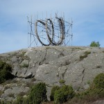 Sprung, sculpture