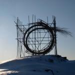 Sprung, sculpture, winter